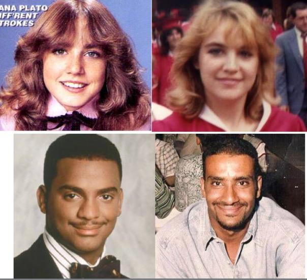 Talk about dopplegangers!  My husband's was Carlson from the Fresh Prince and mine was Dana Plato from Different Strokes! Who was/is your celebrity doppleganger?