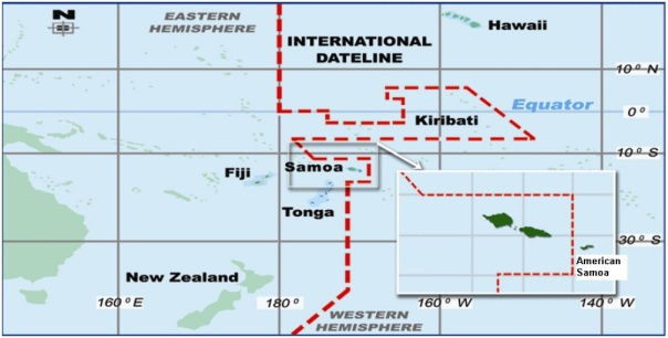 "Part of the International Date ""Line"""